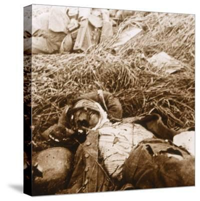 Bodies, Craonne, northern France, c1914-c1918-Unknown-Stretched Canvas Print