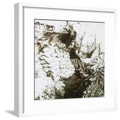 Trenches, c1914-c1918-Unknown-Framed Photographic Print