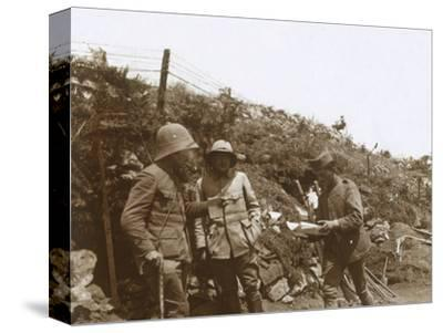 Front line towards Monastir, Serbia, c1916-Unknown-Stretched Canvas Print