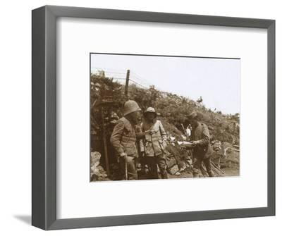 Front line towards Monastir, Serbia, c1916-Unknown-Framed Photographic Print