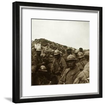After the attack, Artois, northern France, c1914-c1918-Unknown-Framed Photographic Print