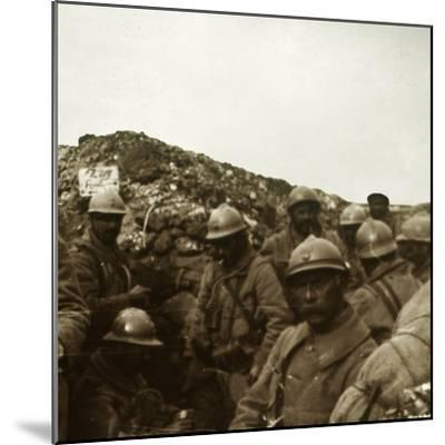 After the attack, Artois, northern France, c1914-c1918-Unknown-Mounted Photographic Print