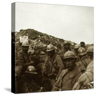 After the attack, Artois, northern France, c1914-c1918-Unknown-Stretched Canvas Print