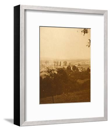 Forest of Argonne, northern France, c1914-c1918-Unknown-Framed Photographic Print
