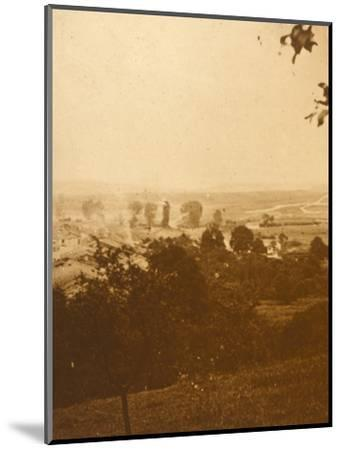 Forest of Argonne, northern France, c1914-c1918-Unknown-Mounted Photographic Print