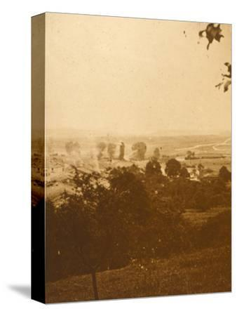 Forest of Argonne, northern France, c1914-c1918-Unknown-Stretched Canvas Print