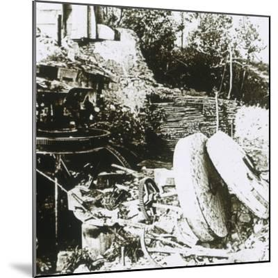 Mill at Woëvre, France, c1914-c1918-Unknown-Mounted Photographic Print