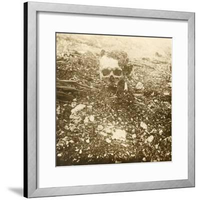 'The Crown Prince', Verdun, northern France, 1916-Unknown-Framed Photographic Print