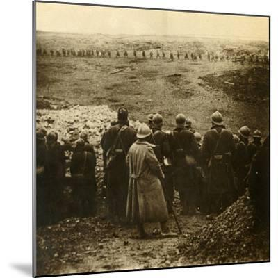 Attack at Douaumont, northern France, December 1916-Unknown-Mounted Photographic Print