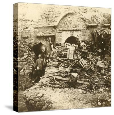 Fort of Souville, Verdun, northern France, c1914-c1918-Unknown-Stretched Canvas Print