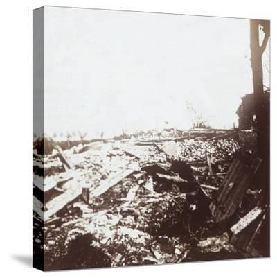 Battlefield, Roeselare, Flanders, Belgium, c1914-c1918-Unknown-Stretched Canvas Print