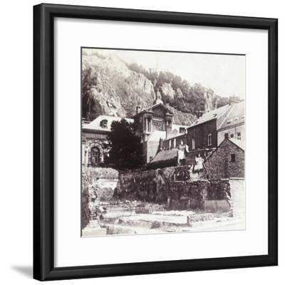 Dinant, Belgium, 1914-Unknown-Framed Photographic Print