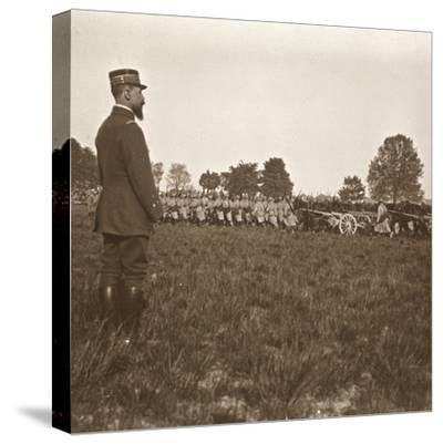 General Henri Gouraud, Champagne, northern France, c1914-c1918-Unknown-Stretched Canvas Print