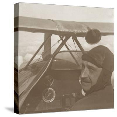 In the clouds at 1200 metres, c1914-c1918-Unknown-Stretched Canvas Print
