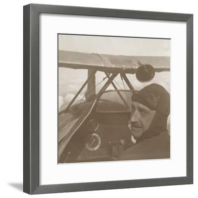 In the clouds at 1200 metres, c1914-c1918-Unknown-Framed Photographic Print