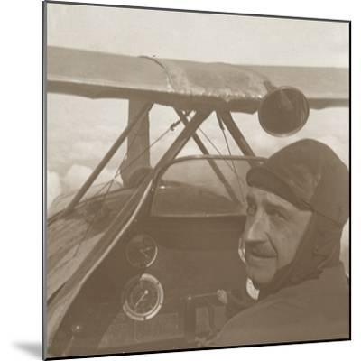 In the clouds at 1200 metres, c1914-c1918-Unknown-Mounted Photographic Print