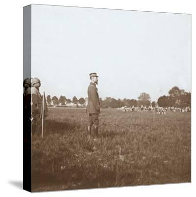 General Henri Gouraud, Chalons, Marne, northern France, c1914-c1918-Unknown-Stretched Canvas Print