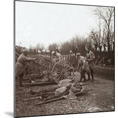 Bodies, Villers-au-Bois, northern France, c1914-c1918-Unknown-Mounted Photographic Print