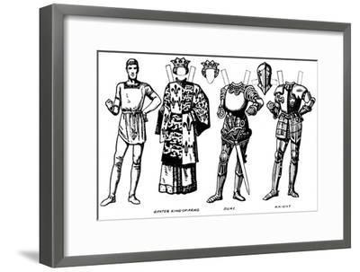 'The Gallery of British Costume: The Dresses Worn In Richard III's Reign', c1934-Unknown-Framed Giclee Print