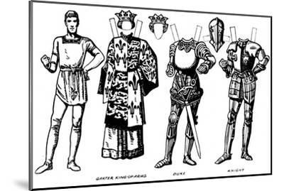 'The Gallery of British Costume: The Dresses Worn In Richard III's Reign', c1934-Unknown-Mounted Giclee Print