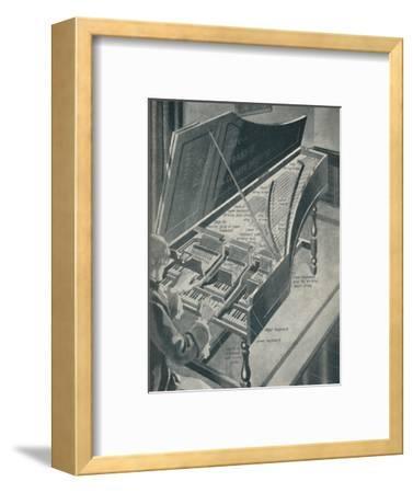 'How Handel's Harpischord Worked', c1934-Unknown-Framed Giclee Print