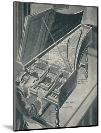 'How Handel's Harpischord Worked', c1934-Unknown-Mounted Giclee Print