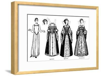 'The Great Gallery of British Costume: Dress Worn in Henry The Eighth's Time', c1934-Unknown-Framed Giclee Print