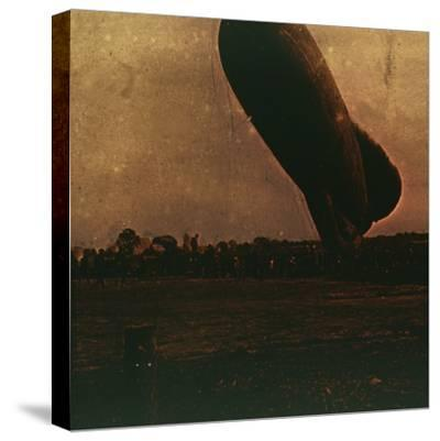 Barrage balloon, c1914-c1918-Unknown-Stretched Canvas Print