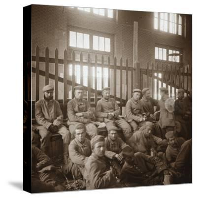 German prisoners of war, c1914-c1918-Unknown-Stretched Canvas Print