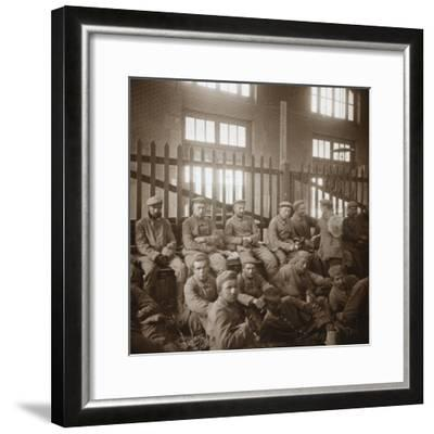 German prisoners of war, c1914-c1918-Unknown-Framed Photographic Print