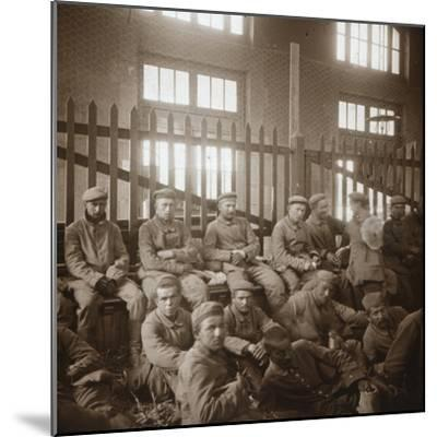 German prisoners of war, c1914-c1918-Unknown-Mounted Photographic Print