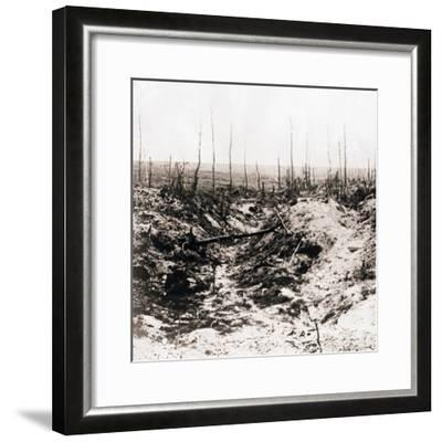 Battlefield, c1914-c1918-Unknown-Framed Photographic Print