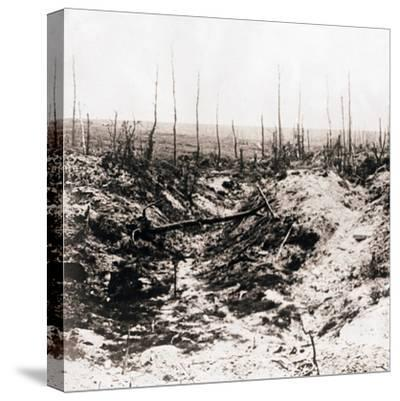 Battlefield, c1914-c1918-Unknown-Stretched Canvas Print