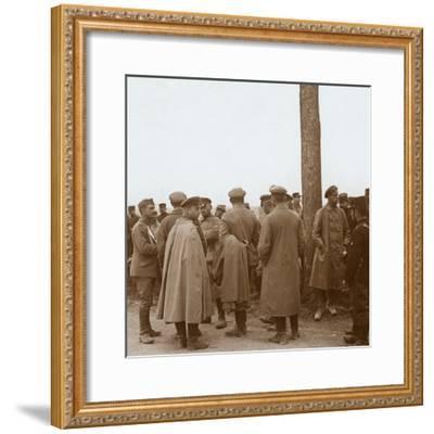 Prisoners, Route de l'Epine, France, c1914-c1918-Unknown-Framed Photographic Print