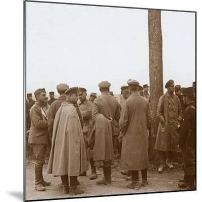 Prisoners, Route de l'Epine, France, c1914-c1918-Unknown-Mounted Photographic Print