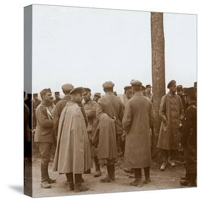 Prisoners, Route de l'Epine, France, c1914-c1918-Unknown-Stretched Canvas Print