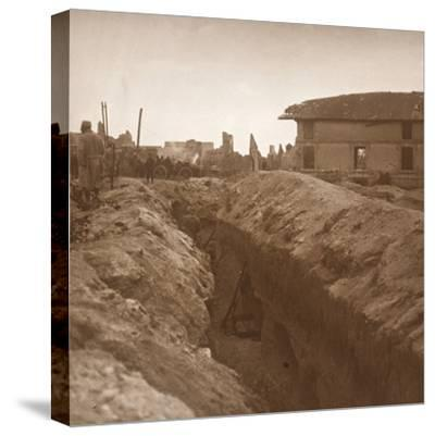 Trenches, c1914-c1918-Unknown-Stretched Canvas Print