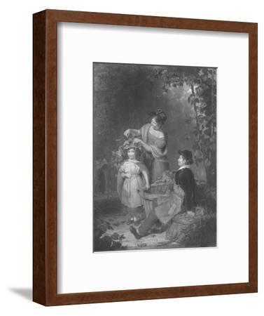 'The Crown of Hops', 1843-1850-Herbert Bourne-Framed Giclee Print