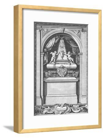 'The Monument of King James II. Erected in...Paris in the year 1703.', c1753-Unknown-Framed Giclee Print