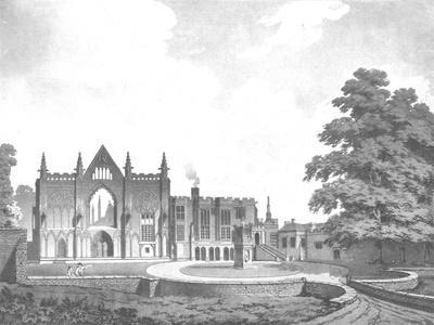 Newstead Abbey, Nottinghamshire, 18th century-Unknown-Framed Giclee Print