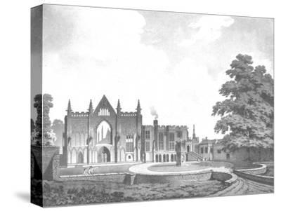 Newstead Abbey, Nottinghamshire, 18th century-Unknown-Stretched Canvas Print