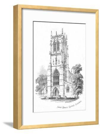 'Saint Mary's, Tickhill. Yorkshire', c1850s-Unknown-Framed Giclee Print