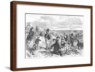 'Eight Hours at the Sea-Side', 1856-Unknown-Framed Giclee Print