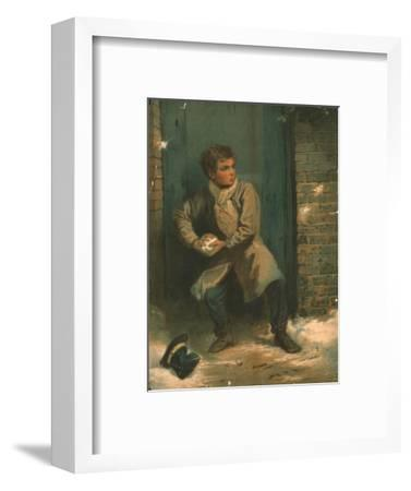 'The Snowballer', 19th century-Unknown-Framed Giclee Print