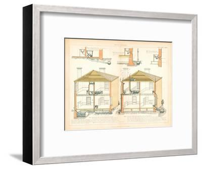 'House Drainage.'-Unknown-Framed Giclee Print