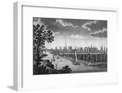 City of York and River Ouse, Yorkshire, c1776-Unknown-Framed Giclee Print