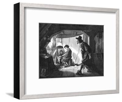 'Young Rubens surprised by his master, Van Oort', (1875)-Unknown-Framed Giclee Print
