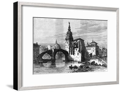 Bilbao, Spain, April 1874-Unknown-Framed Giclee Print