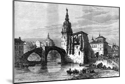 Bilbao, Spain, April 1874-Unknown-Mounted Giclee Print
