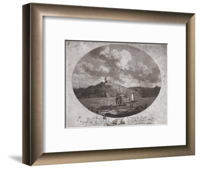 'Mount Wise Fort, Plymouth Dock.', 1780-Benjamin Thomas Pouncy-Framed Giclee Print